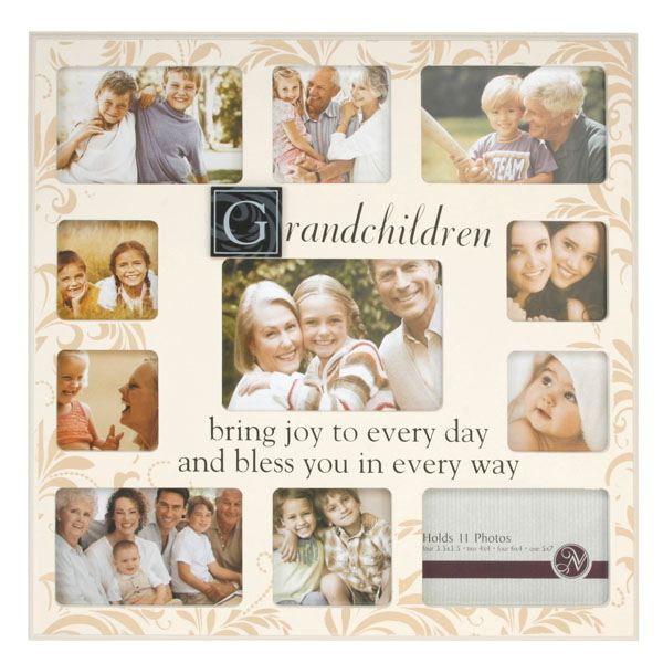 Large Grandchildren Photo Collage Frame | The Gift Experience