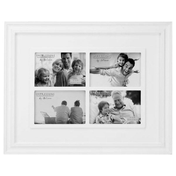 Large White Collage Photo Frame | The Gift Experience