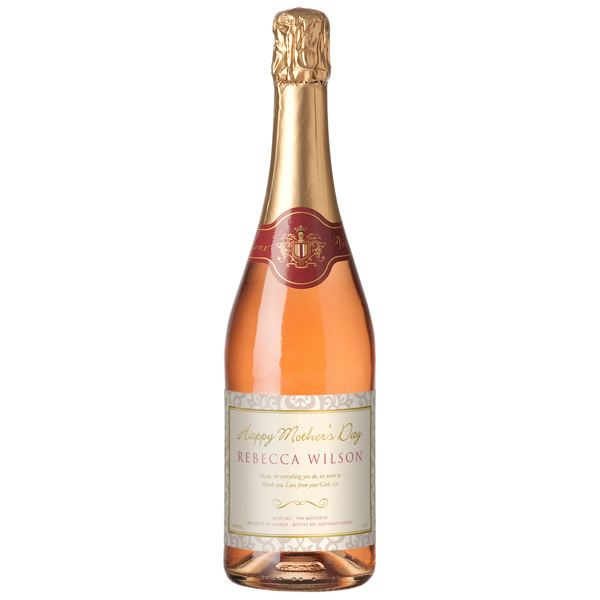 Mothers Day Sparkling Rose Wine and Chocolate Truffles - The Gift ...