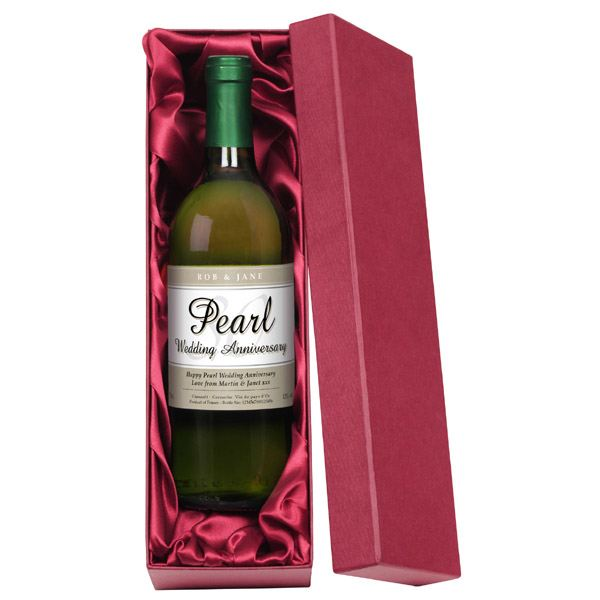 Gift Experiences For Wedding Anniversary : ... Pearl Wedding Anniversary White Wine The Gift Experience