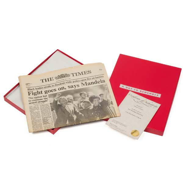 Ruby Wedding Anniversary Gift Experiences : Ruby (40th) Anniversary Original Newspaper The Gift Experience