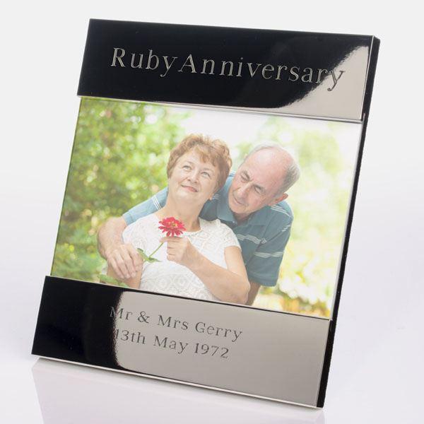 Ruby Wedding Anniversary Gift Experiences : 600x1000_fitbox-ruby_wedding_anniversary_shiny_silver_frame_web.jpg