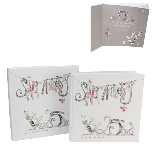 Gift Experiences For Wedding Anniversary : Silver Wedding Anniversary Scrapbook The Gift Experience