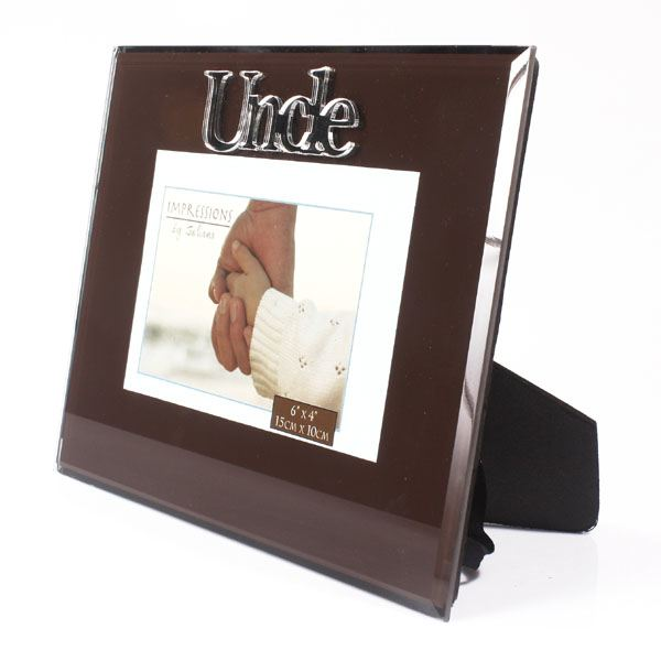 uncle glass photo frame