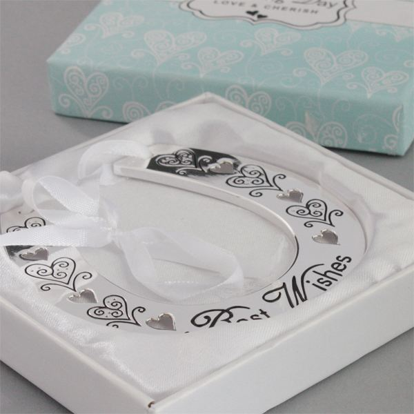 Best Wedding Gift Experiences : Wedding Day Best Wishes Horse Shoe The Gift Exprience