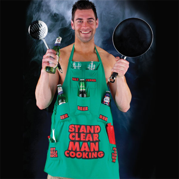 Stand Clear Man Cooking Apron - Cooking Gifts