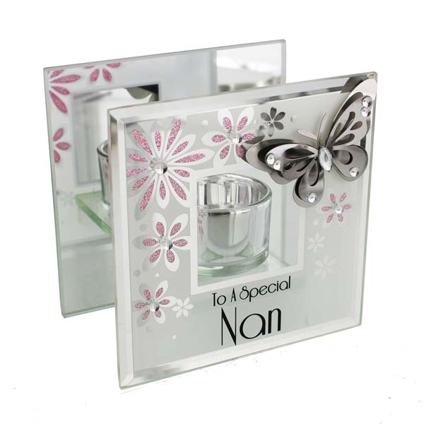 Nan Butterfly Tea Light Holder - Nan Gifts