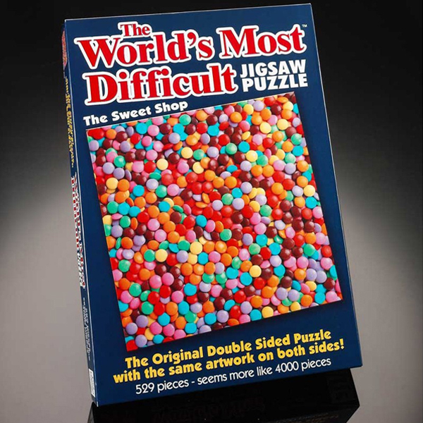World's Most Difficult Jigsaw Puzzle - The Sweet Shop - Jigsaw Puzzle Gifts