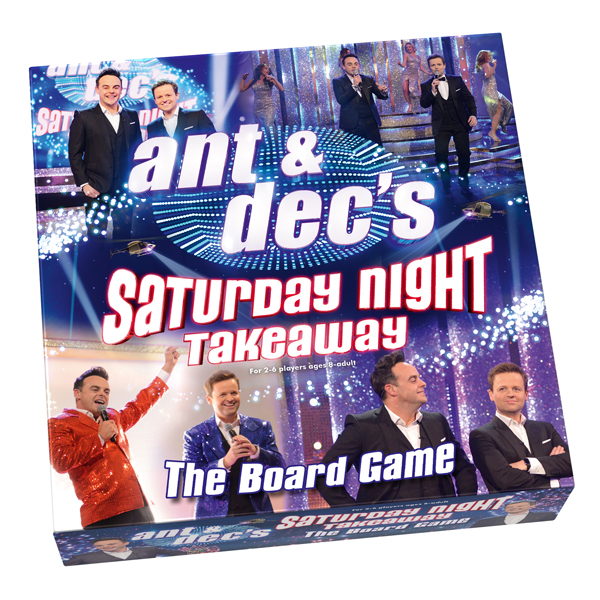 Ant and Dec's Saturday Night Takeaway Board Game