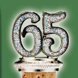 65 Years Bottle Stopper