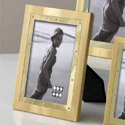 Gold Two Tone Photo Frame