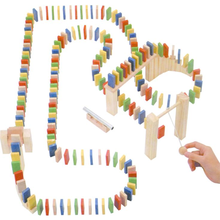 Wooden Domino Race product image