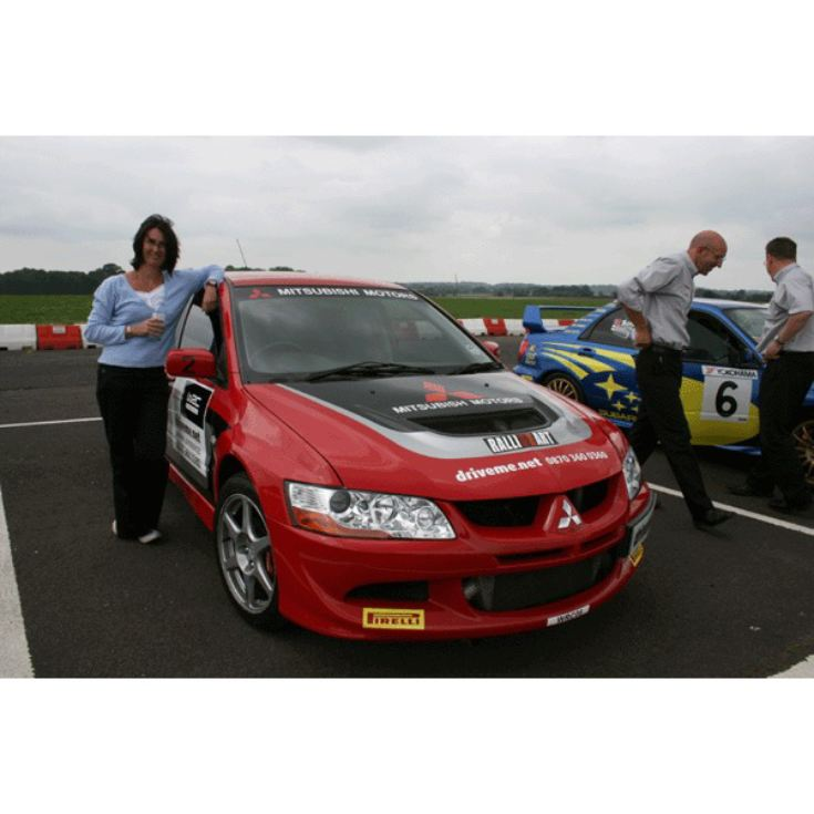 Junior Ferrari and Rally Car Thrill product image
