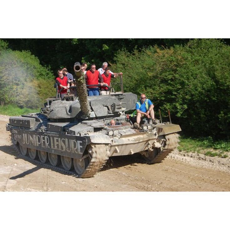 Tank Driving Experience product image