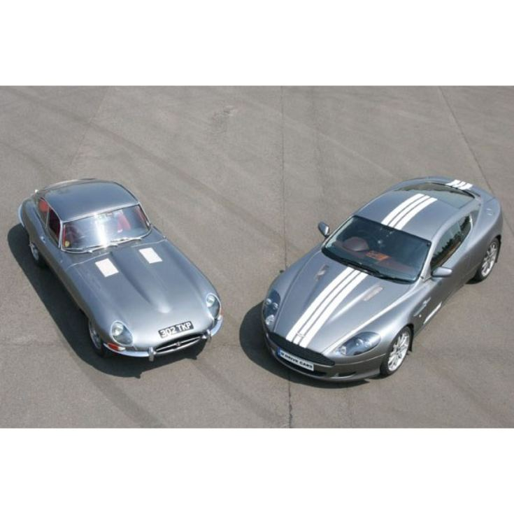 Jaguar E Type and Aston Martin Driving Thrill product image