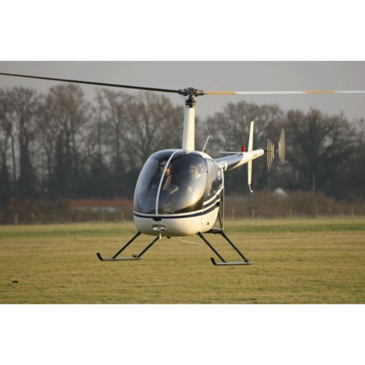 15 Minute Helicopter Tour with Bubbly for Two product image