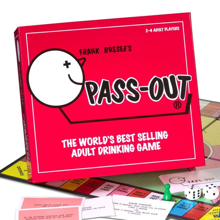 Frank Bresee's Pass Out Adult Drinking Game product image