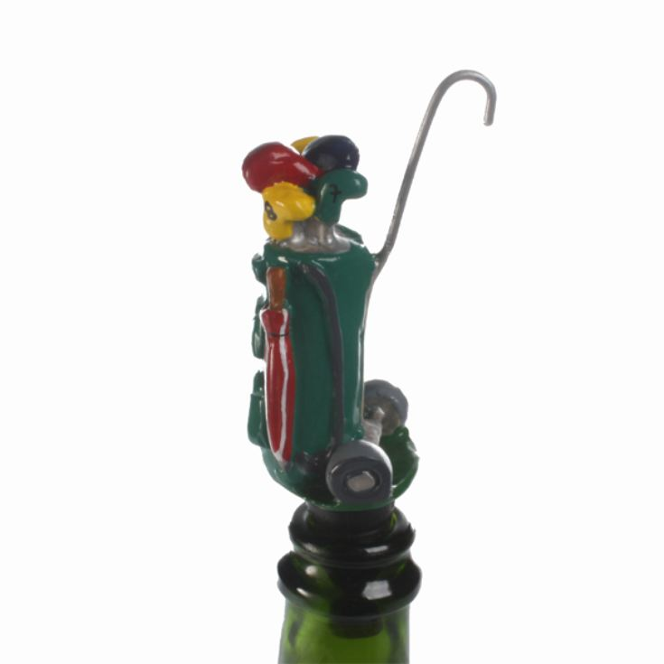 Golfers Bag Bottle Stopper product image