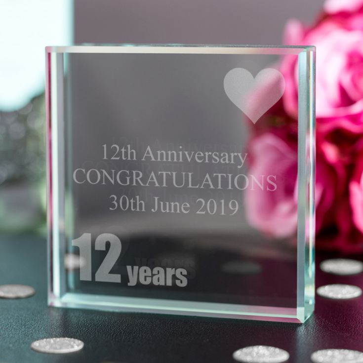 12th (Silk) Anniversary Keepsake product image