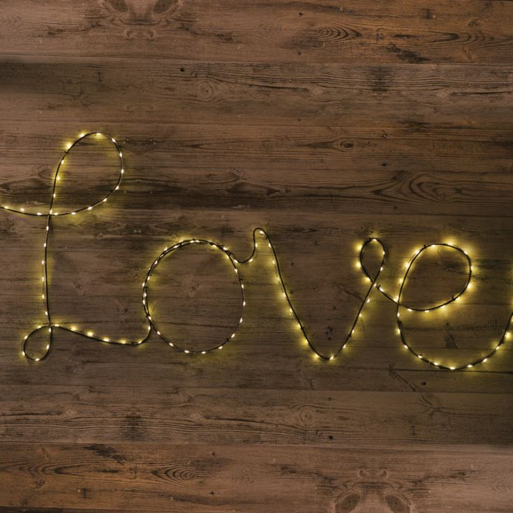 Make Your Own Fairy Light Sign product image