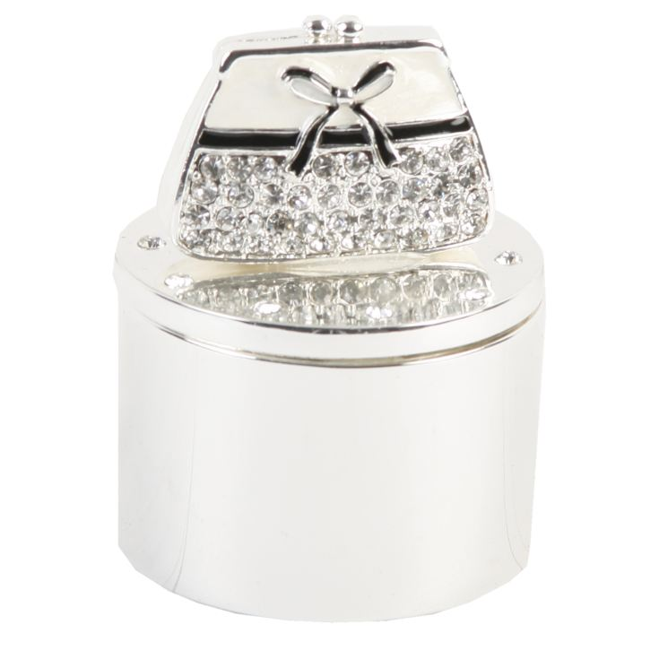 Sophia Trinket Box - Crystal Handbag product image