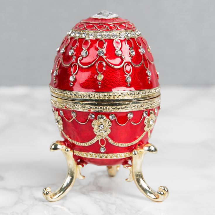 Treasured Trinkets Large Red Egg product image