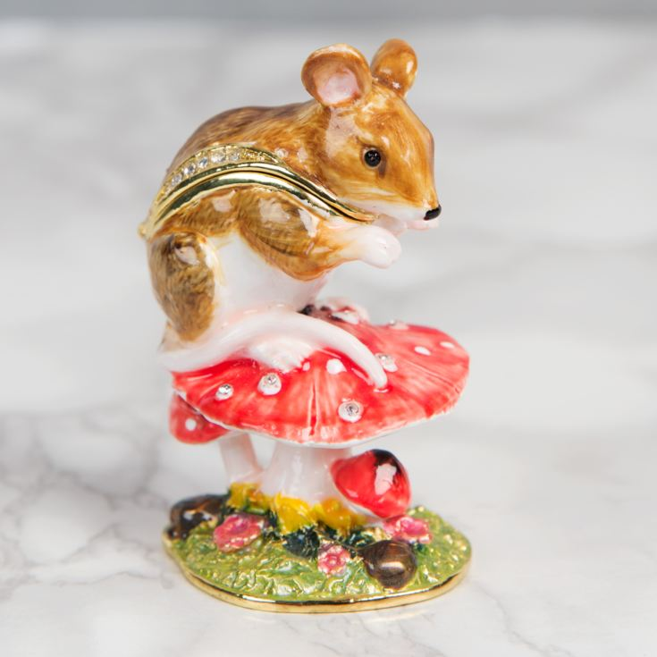 Treasured Trinkets Mouse on Toadstool product image
