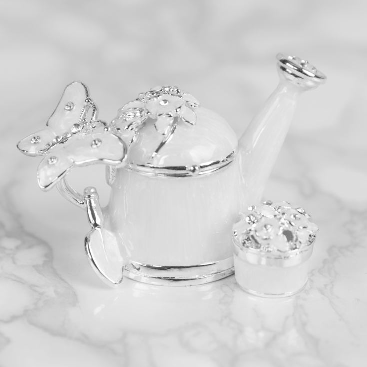 Treasured Trinkets - Watering Can & Flower product image