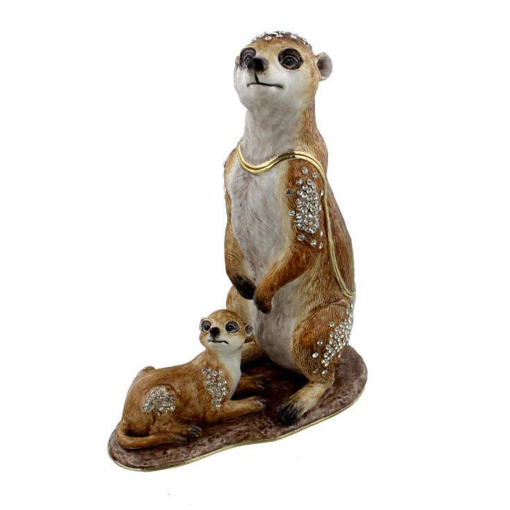 Treasured Trinkets Figurine - Large Meerkat & Baby product image