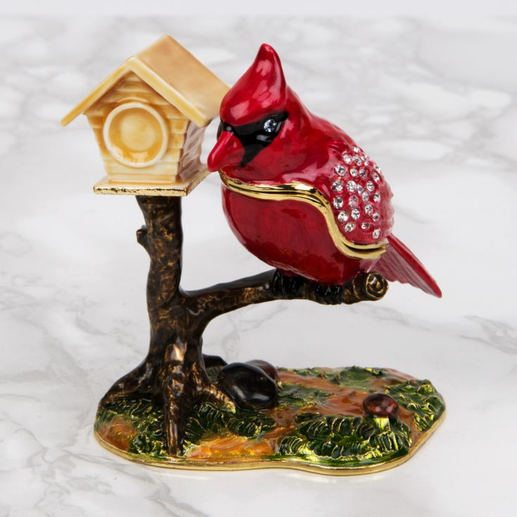 Treasured Trinkets - Bird with Birdhouse product image