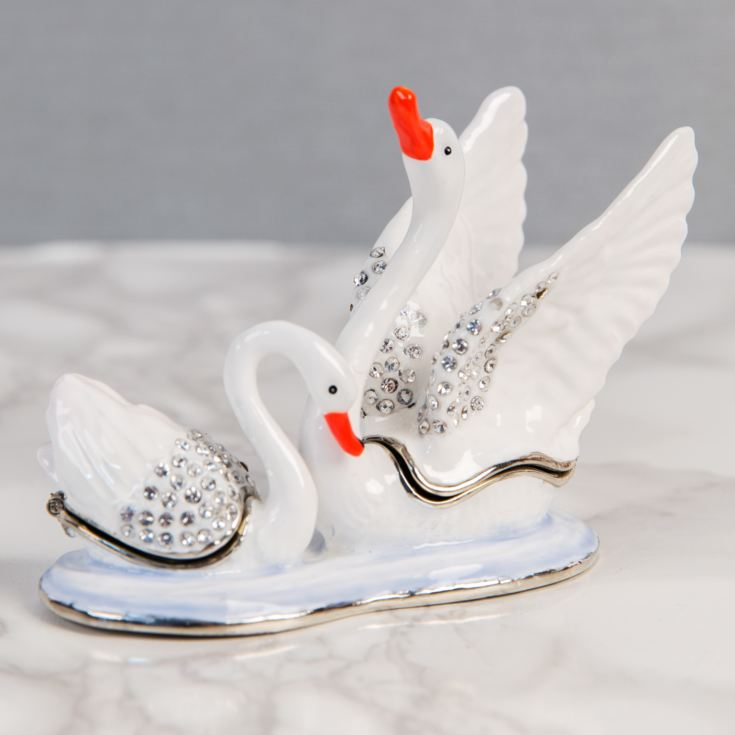 Treasured Trinkets - 2 Swans product image
