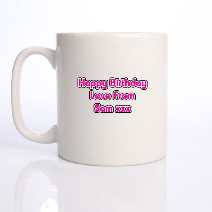 18 Years Personalised Birthday Mug product image
