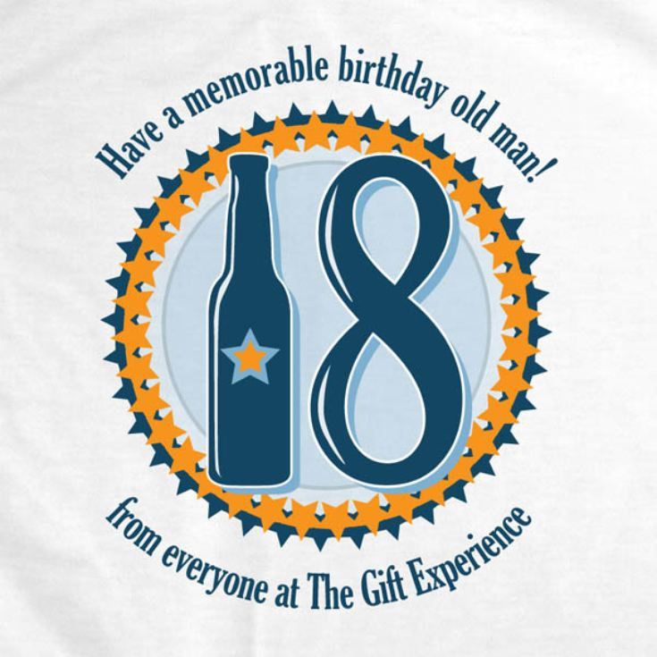 18th Birthday Personalised T-Shirt product image