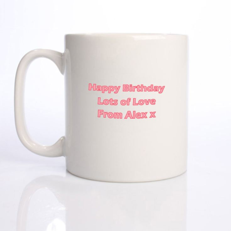 Established in... Personalised 18th Birthday Mug Pink product image