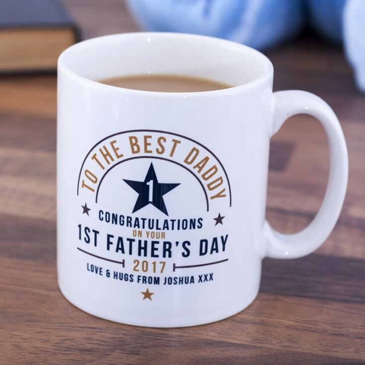 Personalised 1st Father's Day Mug product image