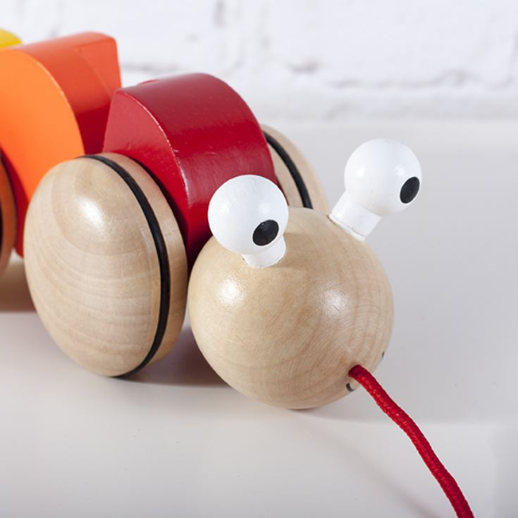 Wooden Pull Along Caterpillar product image