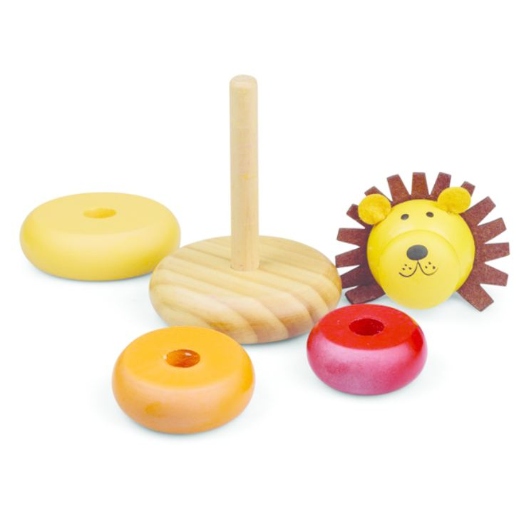 Wooden Lion Stacker product image