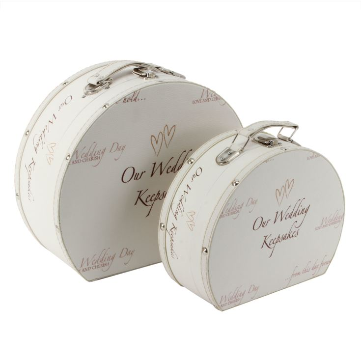 Wedding Day Keepsake Luggage Case product image