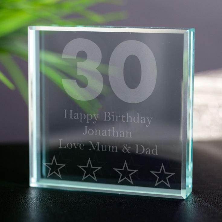 30th Birthday Keepsake Product Image