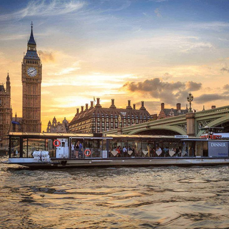 Bateaux Two Course Lunch Cruise on the Thames for Two product image