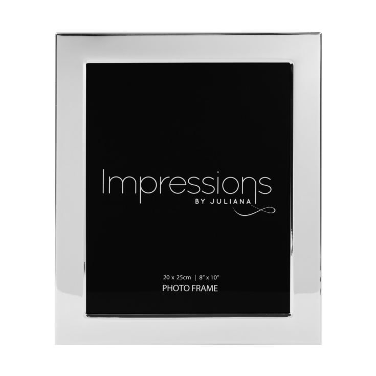 "8"" x 10"" - Impressions Silver Plated Photo Frame product image"