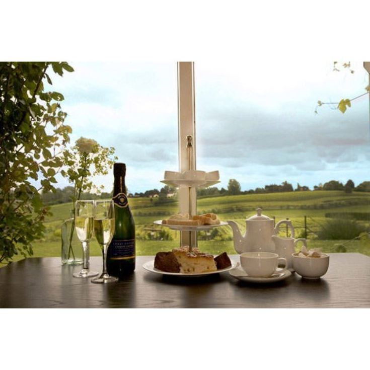 Afternoon Tea and Vineyard Tour with Wine Tasting For Two product image