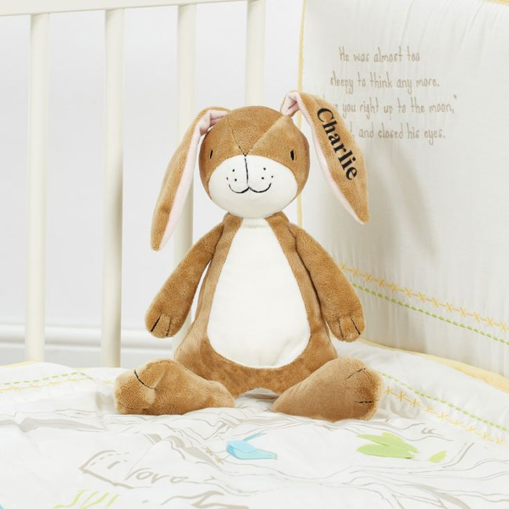 Personalised Guess How Much I Love You Plush Hare product image