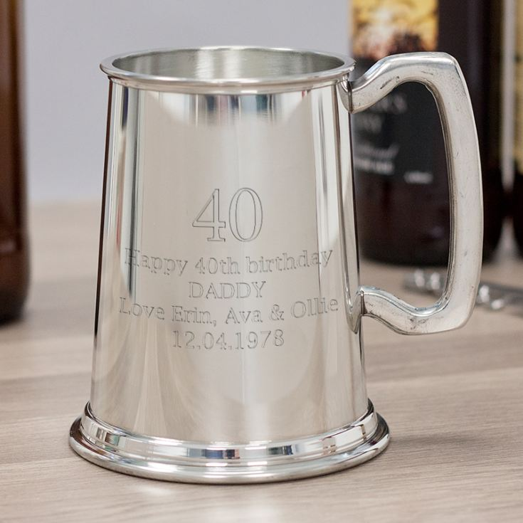 Age Pint Pewter Tankard product image