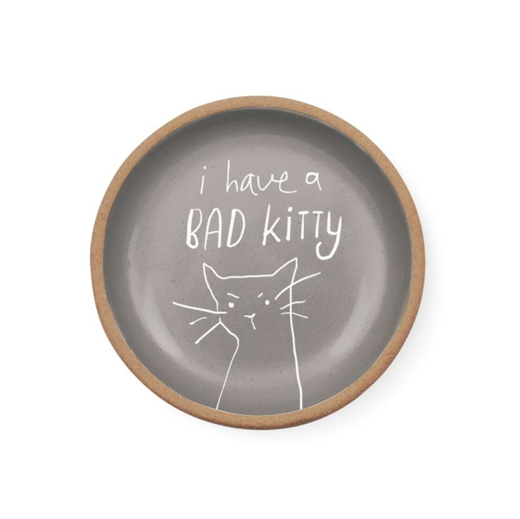 FRINGE Pet Shop I Have A Bad Kitty Trinket Dish product image