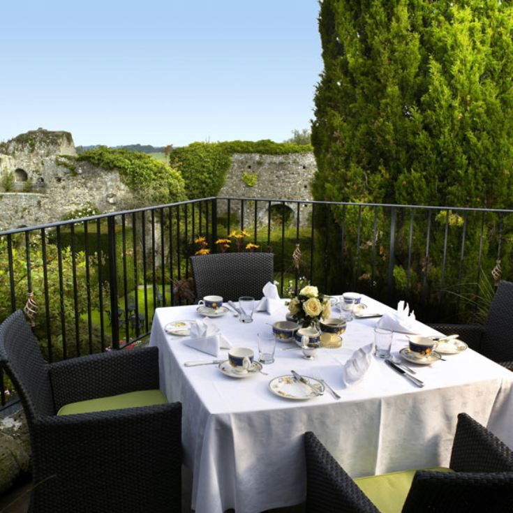 Afternoon Tea for Two at Amberley Castle with Garden Entry product image