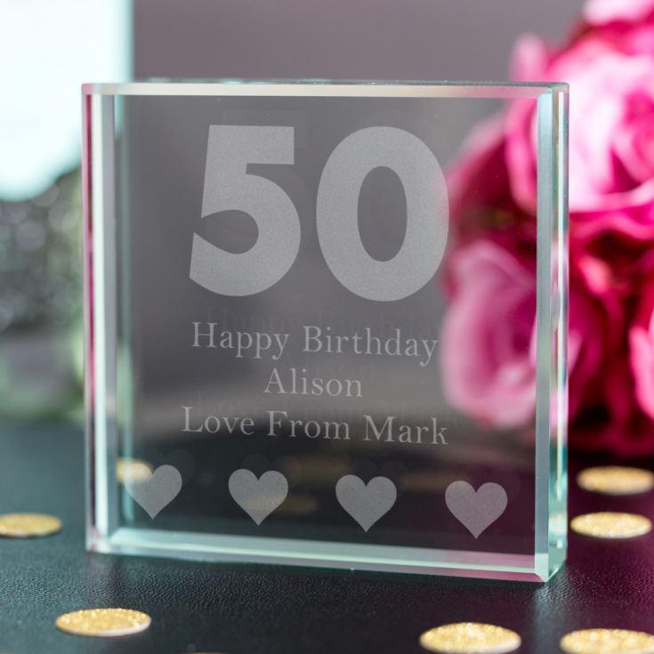 50th Birthday Keepsake