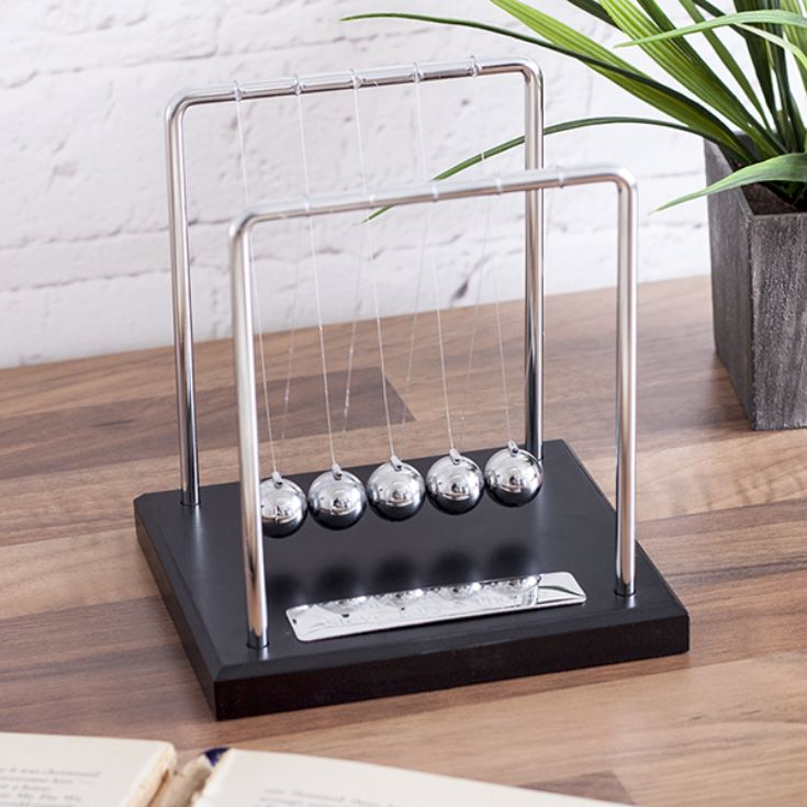 Personalised Newtons Cradle product image