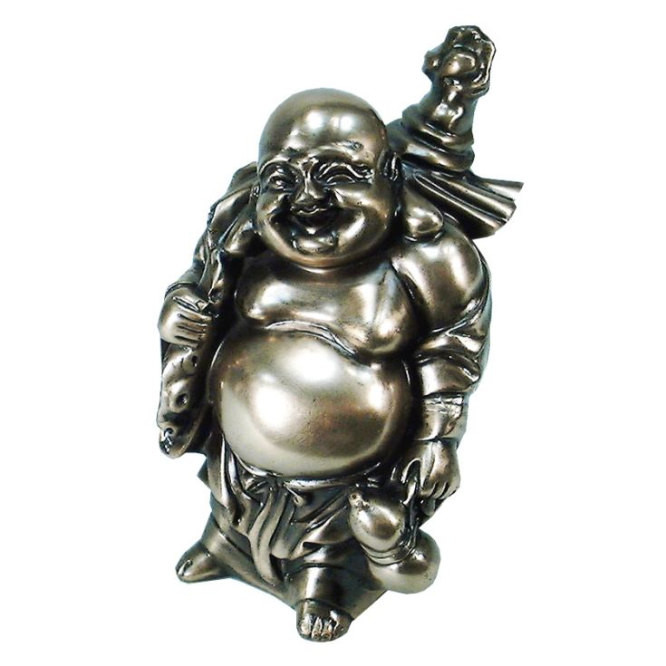Juliana Gifts Polished Bronze Buddha Figurine - Standing product image