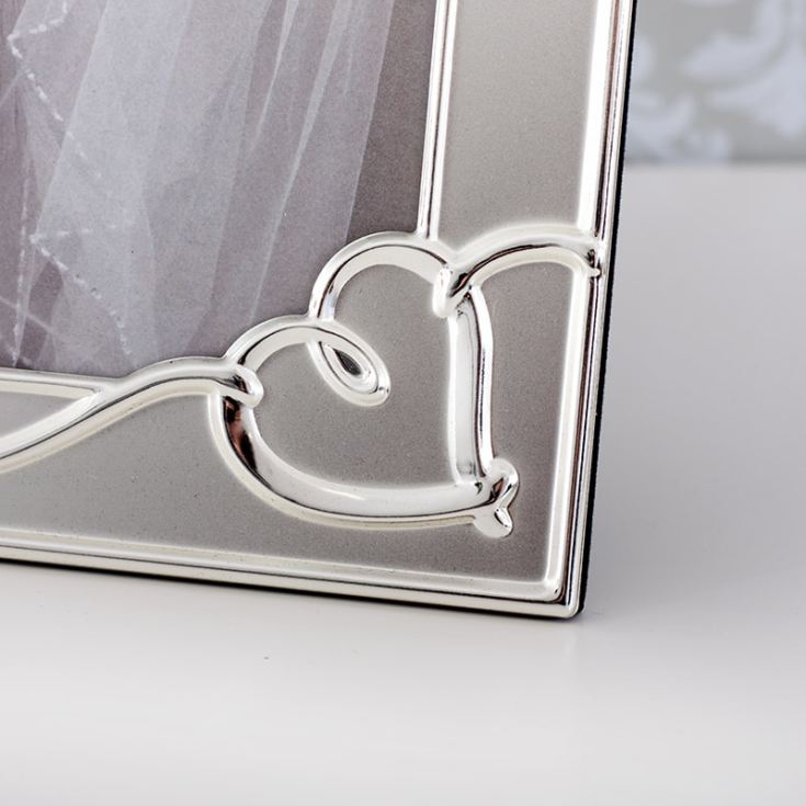 Personalised Satin Heart 8x10 Photo Frame product image